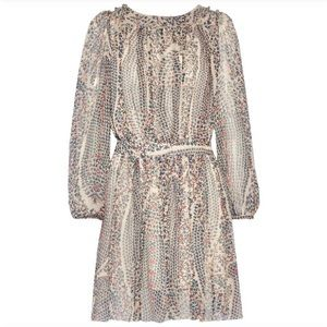 Isabel Marant Etoile Sharla print silk dress sz 38
